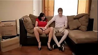 Milf teaches sex lessons to her son - Watch Part 2 On HDMilfCam.com
