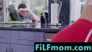 Step mom lesson to daughter for son - Free Full Family Sex Videos at FiLFmom.com