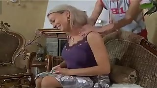 Hot Mom Fucks her Young Son