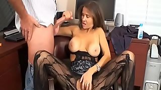 Fun at the office with mom - Porn300.com