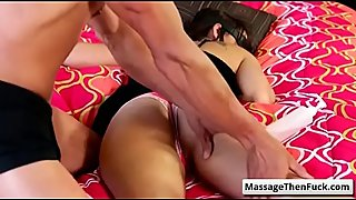Hot fuck Massage wit Charlotte Cross and Tommy Gunn video-02