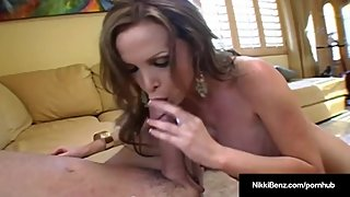 Penthouse Pet Nikki Benz Is Rammed From Behind By Hard Cock!