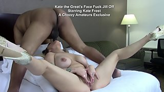 Kate Frost masturbates and then gets forcefed BBC