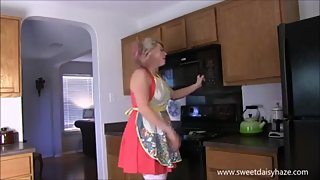Sex in Kitchen with Mom