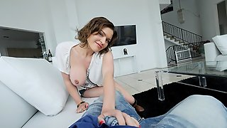 Pervmom - Horny Mom Fucks Stepson One Last Time