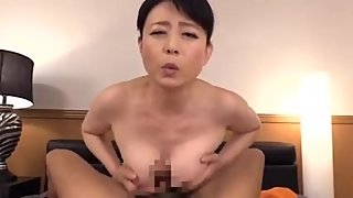 Japanese mom seduces daughter's boyfriend