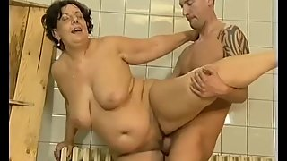 chubby mom nedds a strong cock