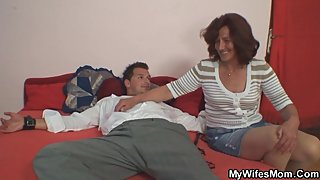 Taboo sex with her mom and husband