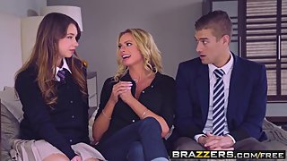 Brazzers - Moms in control -  The Loophole scene starring Br
