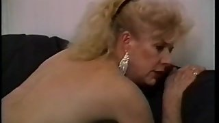 Big Breasted Granny Seduces A Young Guy And Has Him Banging