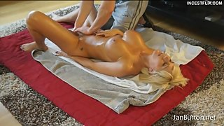 P25 - Step Son lotion my Body and one thing leads to another