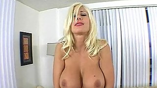 massive stepmom tits on this blonde 2